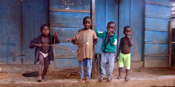 Four Small Boys.