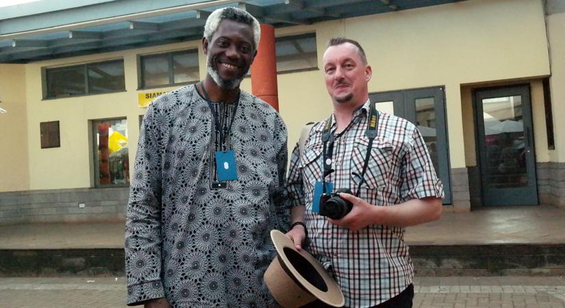 Chuma Nwokolo, Stephen Derwent Partington