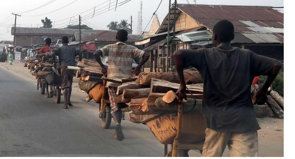 wood barrow convoy