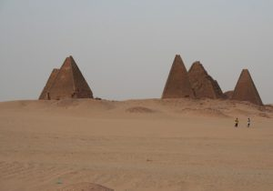 The pyramids at Karima