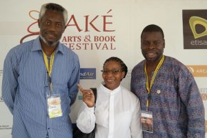 At the Ake Arts & Book Festival