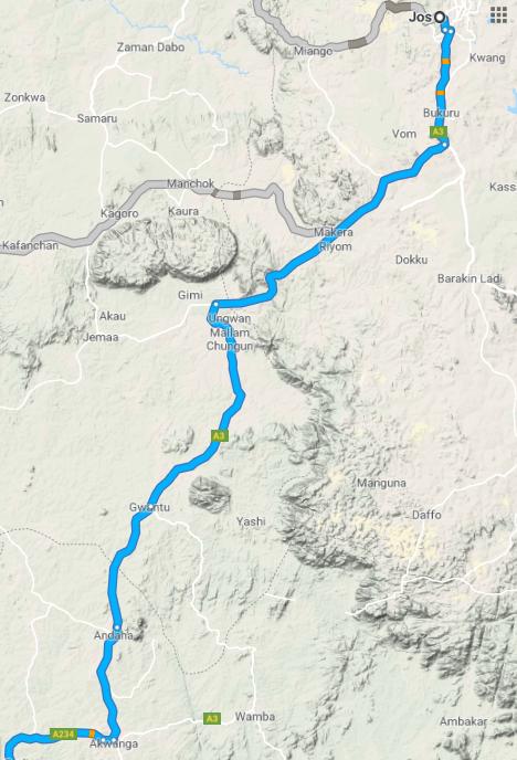 Road Map, Nigeria