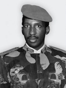 Thomas Sankara:  Burkinabe Revolutionary President (1983-1987)